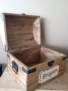 This is a beautiful and large wooden chest, excellent quality! Awesome for any keepsake chest or kids/babies toy or memory chest. The engraving