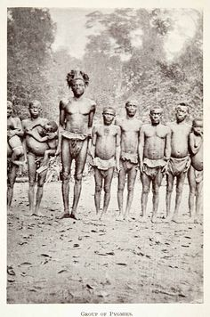 1923 Print Africa Pygmy Tribe Tribal Anthropology Ethnography Historic XGCC4