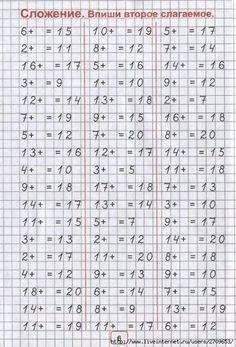 Стена Number Worksheets Kindergarten, Math Activities, Russian Language Lessons, Math Websites, Niklas, Math Sheets, Study Skills, Homeschool Math, Math Facts