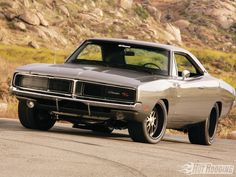 '69 Charger #dodgechargerclassiccars