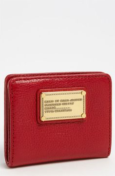MARC BY MARC JACOBS 'Classic Q' Billfold Wallet available at #Nordstrom