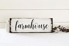 Farmhouse sign Farm wall decor farmhouse by 2ChicksAndABasket