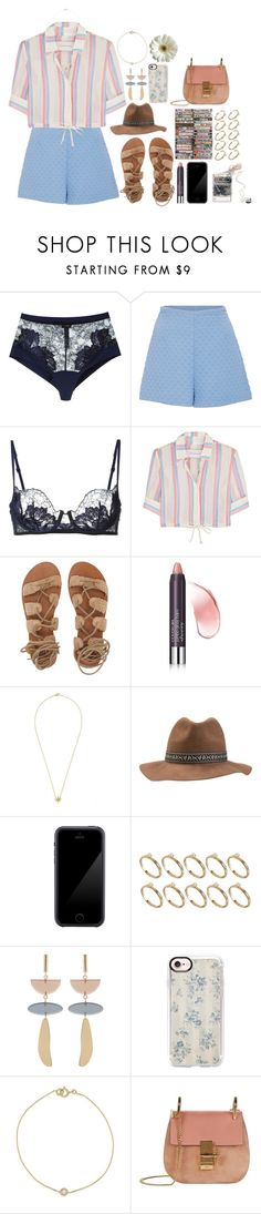 """""""OUTFIT #273"""" by fran-peeters ❤ liked on Polyvore featuring La Perla, Cacharel, Solid & Striped, Billabong, Squair, Sony, ASOS, Isabel Marant, Casetify and Chloé"""