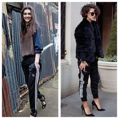 Image result for corset with adidas pants
