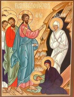 Jesus and the Mysteries of Christianity Part V - Humanity Healing Network Alfred Jarry, Raising Of Lazarus, Saint Victor, Church Icon, Dorothy Day, Marie Madeleine, Time Pictures, Orthodox Christianity, Orthodox Icons