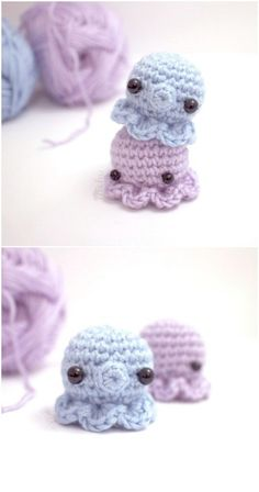 Cute Little Crocheted Octopus