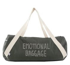 A bag for lugging around your unresolved issues (or your gym clothes).   37 Punny Products That Will Make You LOL