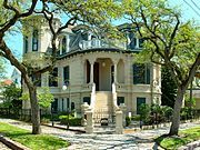 Absolutely gorgeous homes and a decent beach make Galveston one of the places to spend summer in Texas.