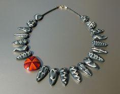 Necklace Matrix Variations by ST-Art-Clay, via Flickr