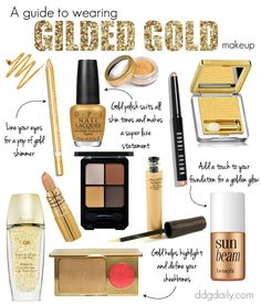 The midas touch: A guide to wearing gilded gold makeup