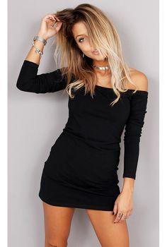 Vestido Ombro a Ombro TQT - fashioncloset