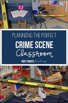 Top 5 tips to planning an easy Crime Scene Day. My kids had so much fun staging a crime scene investigation and becoming detectives for a day! The and cases activities were easy to plan and the inferencing unit was easy to teach. Escape Room, Science Classroom, Classroom Activities, Activities For Kids, Classroom Ideas, Science Education, True Detective, Inference Activities, Making Inferences