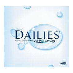 Duże opakowanie soczewek Focus Dailies All Day Comfort 90 szt.