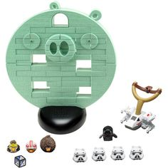 Angry Birds Star Wars Jenga Death Star Game, ok who knew they made such a thing??  LOL