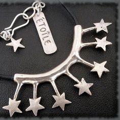 A mon étoile  Mon fétiche d'étoiles  Collier par LaSistaCreations