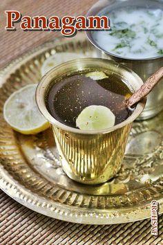 Panagam - Sri rama navami recipe - A healthy drink made with jaggery !