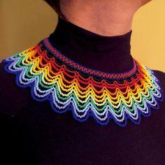 Collares : Gargantilla Embera Telaraña
