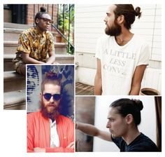 I for one love the man bun.
