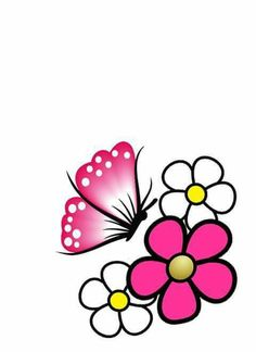 Para Star Painting, Diy Painting, Beading Tutorials, Beading Patterns, Rock Flowers, Butterfly Fairy, Paper Birds, Pink And White Flowers, Country Paintings
