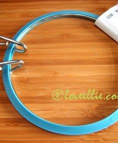 blue tension hoop available from loveellie.com @LoveEllieBags P7055446