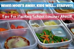 Gluten Free & Allergy Friendly: Lunch Made Easy: Tips for Packing Make Ahead School Lunches