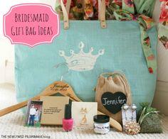 Bridesmaid Gift Bag Ideas - Bridesmaid Bag Fillers
