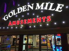 Blackpool golden mile amusement arcade