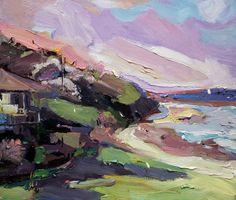Richard Claremont | Afternoon Light at Coledale