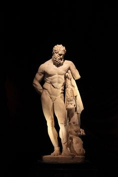 Heracles Statue, Antalya Archeological Museum, Turkey