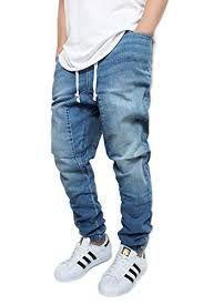 47176c4ff Image result for jeans jogger Denim Joggers, Sweatpants, Drop Crotch, Men's  Jeans,