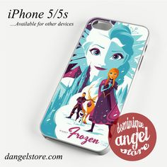 Movie Poster Frozen Phone case for iPhone 4/4s/5/5c/5s/6/6 plus