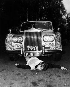 John Lennon's psychedelic Rolls-Royce, c.1967