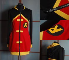 I LOVE THIS! Robin Hoodie design Young Justice