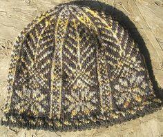 Kathleen Taylor's Dakota Dreams: REVISION Freebie Friday- Picot Hem Snowflake Hat