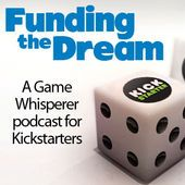 Great podcast that covers lots of aspects of putting together a Kickstarter project for your Board/cardgame.