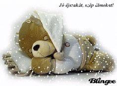 Animált fotó Good Night Sister, Good Morning Good Night, Good Night Prayer, Good Night Quotes, Gif Pictures, Cute Pictures, Tatty Teddy, Teddy Bear, Retro Hits