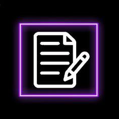 Purple Wallpaper Iphone, Camera Icon, Neon Purple, App Logo, Phone Icon, Purple Aesthetic, App Icon, Homescreen, Notes