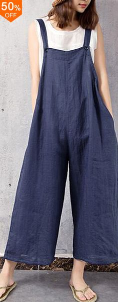 I love those fashionable and beautiful jumpsuits from banggood.com. Find the most suitable and comfortable outfit at incredibly low prices here.  #women #street #clothes