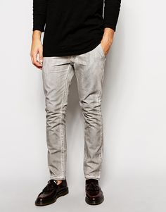 Cheap+Monday+Slim+Fit+Coated+Chinos