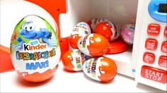 Magic Microwave with Maxi Kinder Surprise Eggs Video