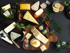 Tips til ostefatet Feeding A Crowd, Food Art, Tapas, Dairy, Cheese, Recipes, Recipies, Food Recipes, Recipe