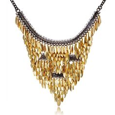 CharmLeaks Women's Two-Tone Triangle Sequins Crystal Bib Statement... ($30) ❤ liked on Polyvore featuring jewelry, crystal jewellery, set jewelry, crystal jewelry sets, sequin jewelry and black jet jewelry