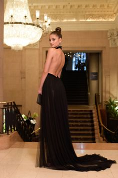 """taylorhilldaily: """"Taylor Hill attending the Met Gala 2016