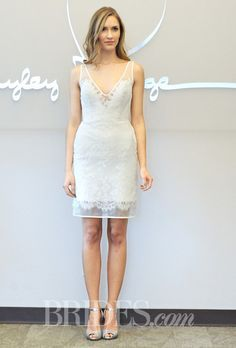 Second marriage dresses knee length with style