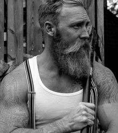 Viking Beard Tips and Styles (Part 1 of Viking Beard Tips and Styles (Part 1 of The Vikings are famous not only for their outstanding warfare tactics but also for their ahead-of-time style. Hot Beards, Great Beards, Awesome Beards, Barba Grande, Badass Beard, Epic Beard, Hairy Men, Bearded Men, Beard Tips