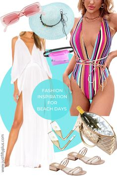 What are the trendiest beach essentials this summer? How to Dress for a Beach Party with a Beach-to-Bar Cover Up Dress Bathing Suit Cover Up, Bathing Suits, Beach Outfit For Women, Suits For Women, Clothes For Women, Beach Essentials, Striped Swimsuit, Beachwear For Women, Beach Party