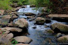 Potters Falls in Wartburg TN