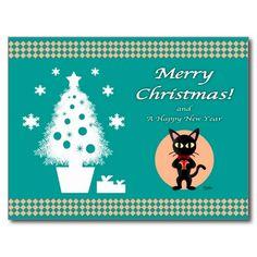 Merry Christmas! Postcard by BATKEI