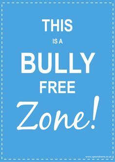 Anti bullying school posters to help you tackle bullying and make your school a bully free zone. Stop Bullying Posters, All Schools, School Posters, Anti Bullying, Secondary School, Teaching Resources, Learning, Free, Fashion