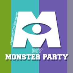 DIY Monsters University Party